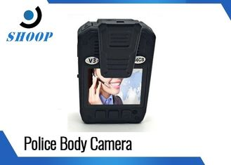 Waterproof Police Body Cameras 3500mAh Battery Capacity With 2 Inches Display