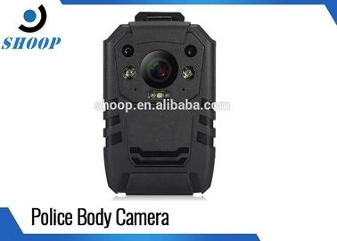 GPS Small Police Body Cameras , Waterproof Police Officers Wearing Body Cameras